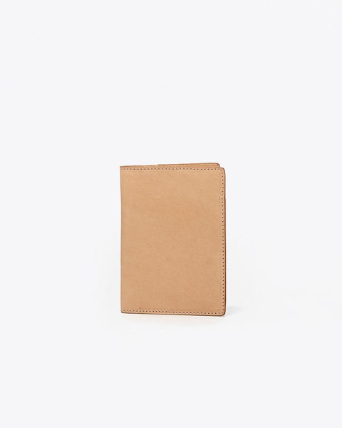 Passport Case Natural Vachetta