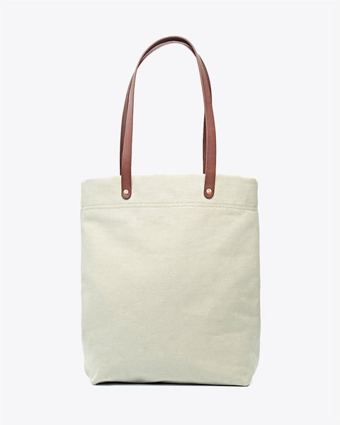 Canvas Tote Seafoam Green