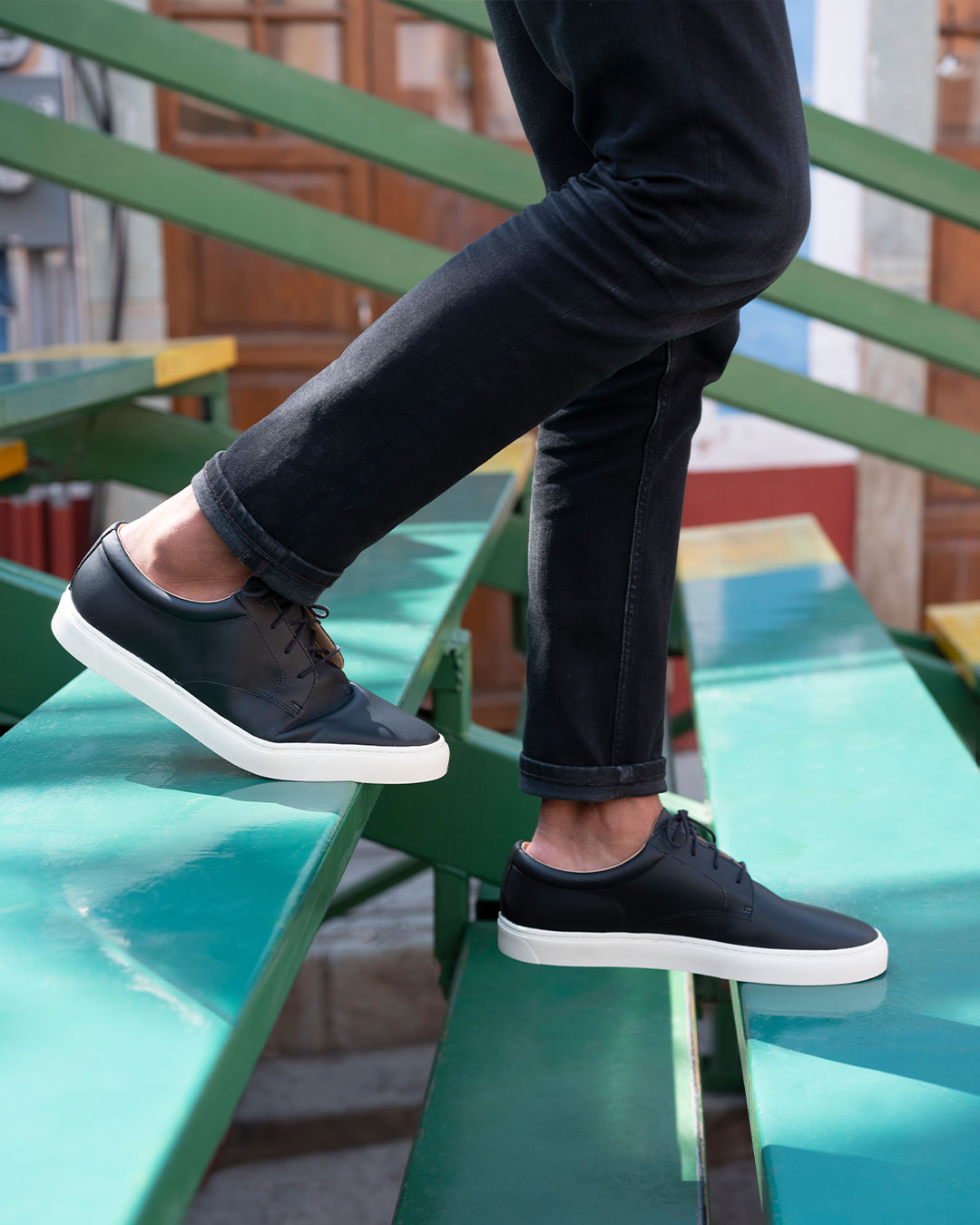 Men's Diego Low Top Sneaker Black