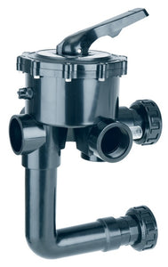"1.5"" And 2"" Classic Multiport Valve With Filter Connections - The Swimming Pool Shop"