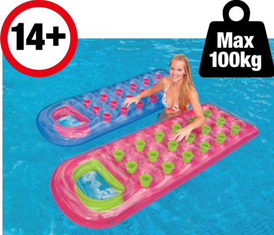 18 Pocket French Lounger - The Swimming Pool Shop