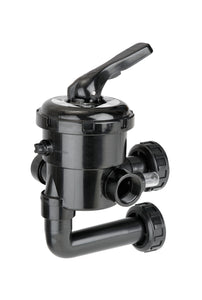 "1.5"" And 2"" Multiport Valve New Generation With Filter Connections - The Swimming Pool Shop"