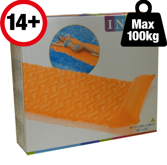 Intex Tote-N-Float Wave Mat Retail Box Intex Tote-N-Float Wave Mat - The Swimming Pool Shop