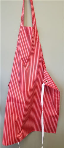 APRONS STRIPED (RED)