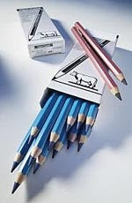 Meat Marking Pencils in blue