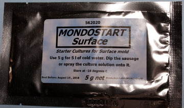 Mondostart Surface Starter Culture Promotes White Mold Development On Dry Cured Products