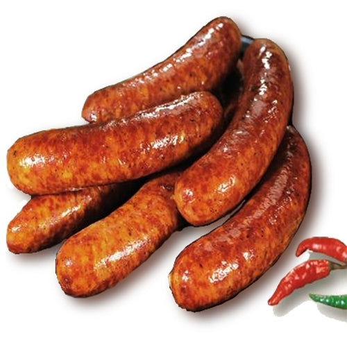 Spicy Texas Fresh Sausage Gluten Free