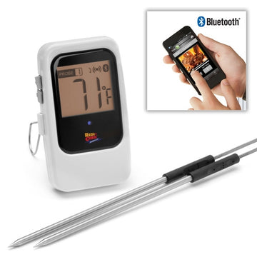 Maverick Bluetooth BBQ Thermometer White - Pairs with Mobile Phone