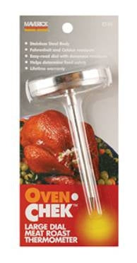 Oven-Chek Large Dial Meat/Roast Thermometer