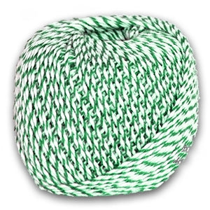 Green & White Sausage Twine 200 g Roll