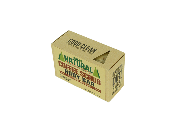 Coffee Scrub Body Bar - Sams Natural (6)