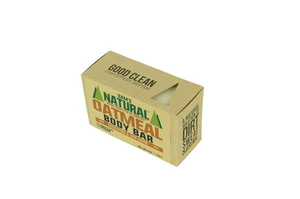 Oatmeal Body Scrub Soap - Sams Natural (6)
