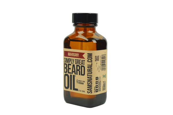 Mahogany Beard Oil