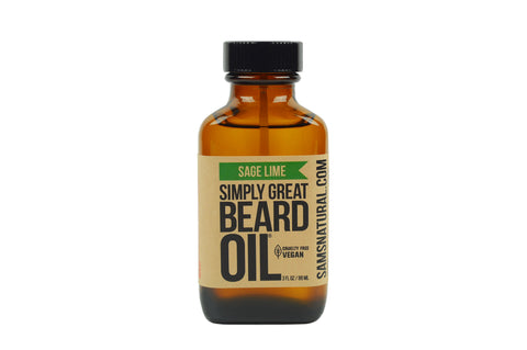 Sage Lime Beard Oil