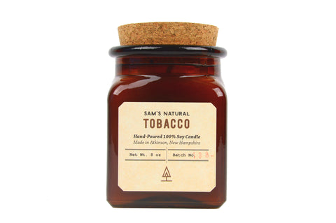 Tobacco Soy Candle