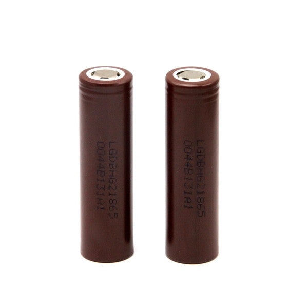 Pair of LG INR18650-HG2 Battery