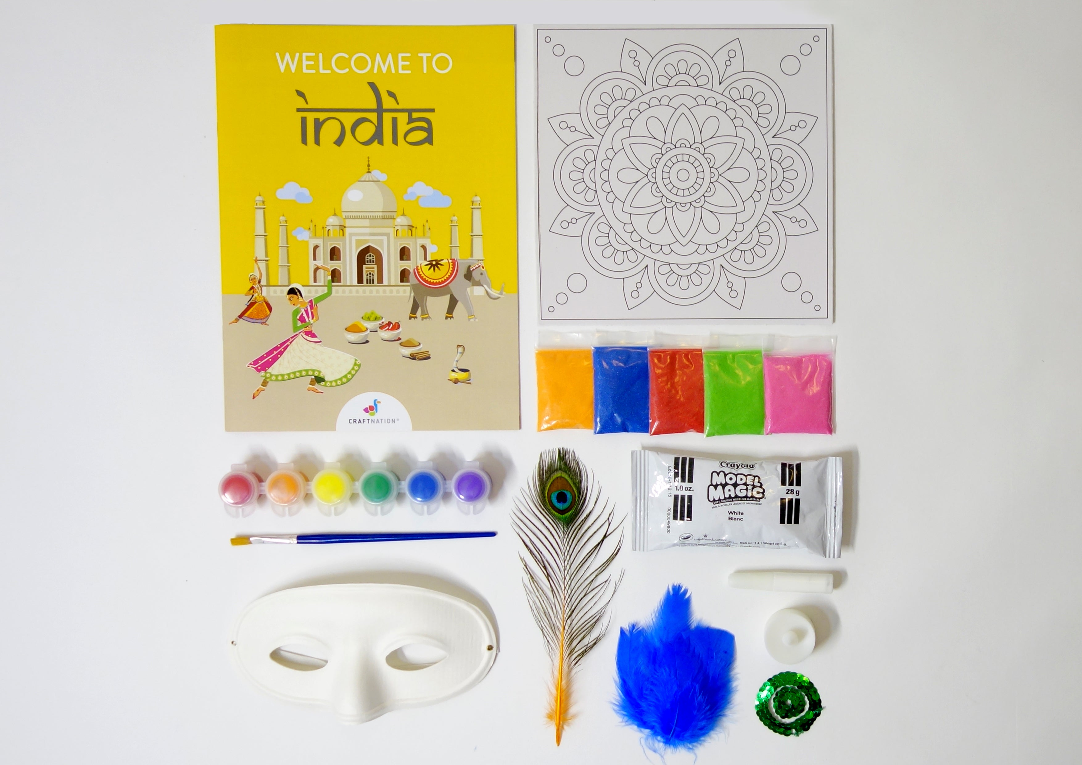 India Activity Pack