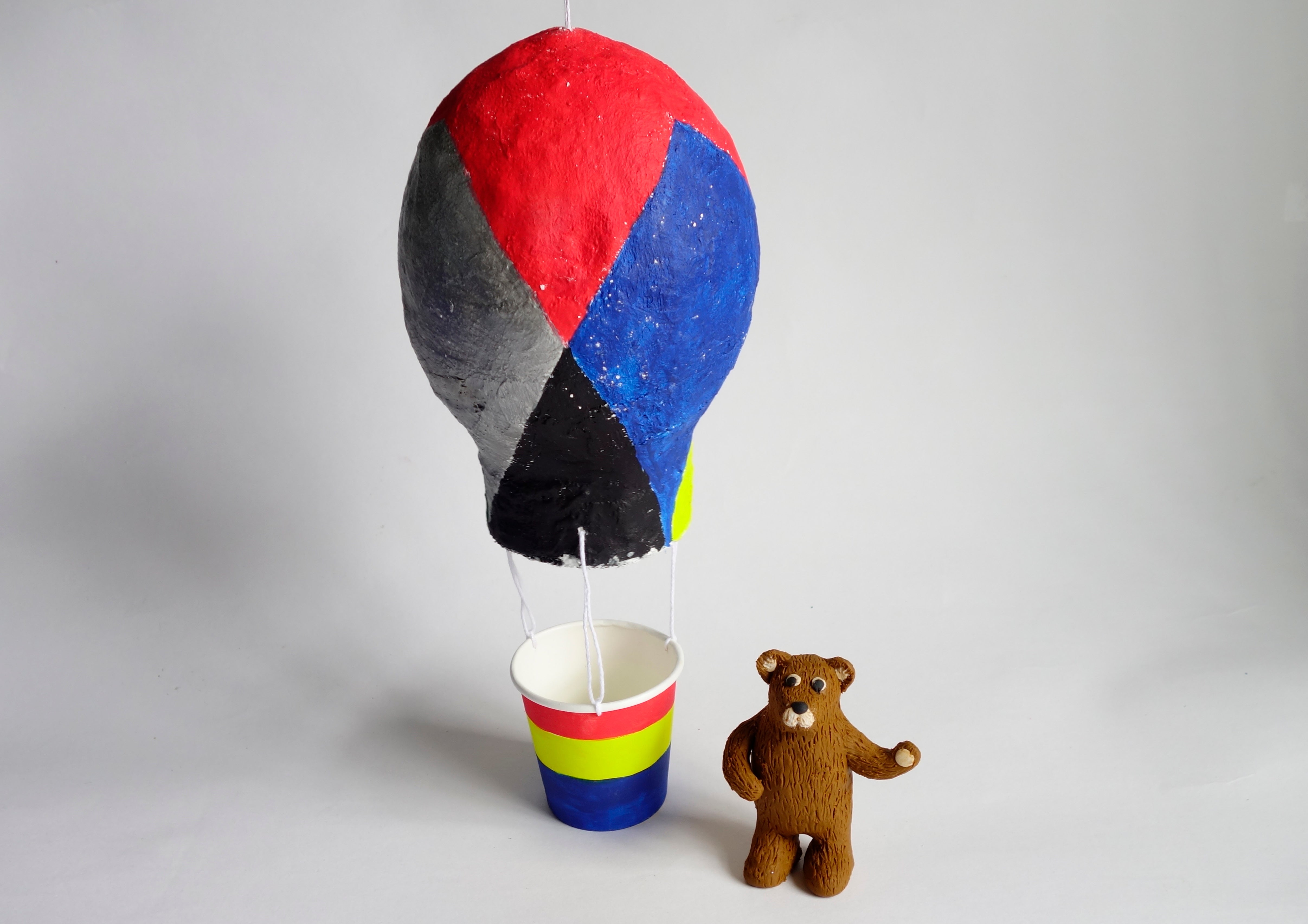 Hot Air Balloon & Bear Sculpture Class