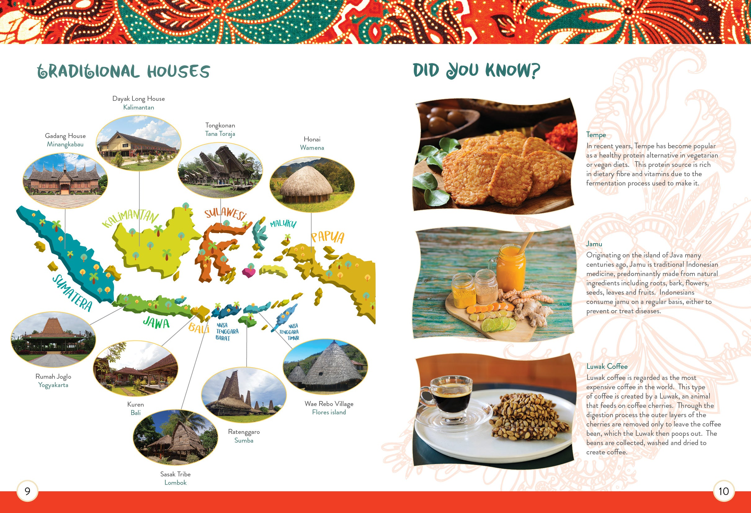 Indonesia Activity Pack
