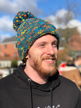 Load image into Gallery viewer, Avalanche Beanie Bobble Hat