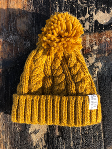 Polar Beanie Bobble Hat