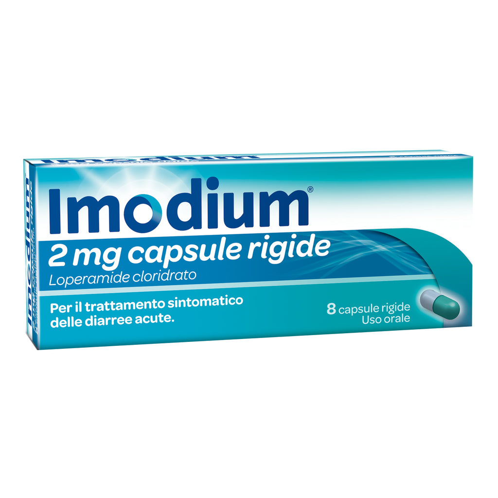 IMODIUM*8 cps 2 mg