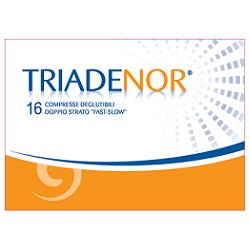 TRIADENOR 16 COMPRESSE 20 G