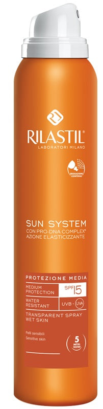 RILASTIL SUN SYSTEM PHOTO PROTECTION THERAPY SPF15 TRANSPARENT SPRAY 200 ML