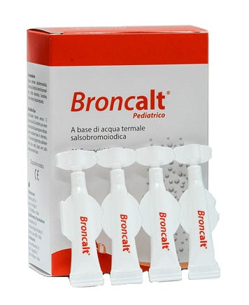 BRONCALT STRIP PEDIATRICO SOLUZIONE IRRIGAZIONE NASALE 20 FLACONCINI DA 2 ML