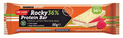 ROCKY 36% PROTEIN BAR RASPBERRY CHEESECAKE BARRETTA 50 G