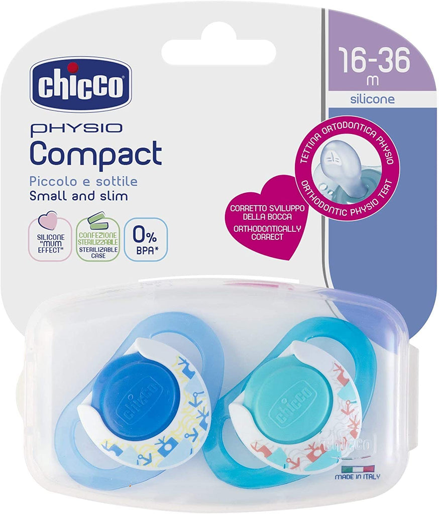 CHICCO GOMMOTTO IN SILICONE GIRL 16-36 MESI 2 PEZZI