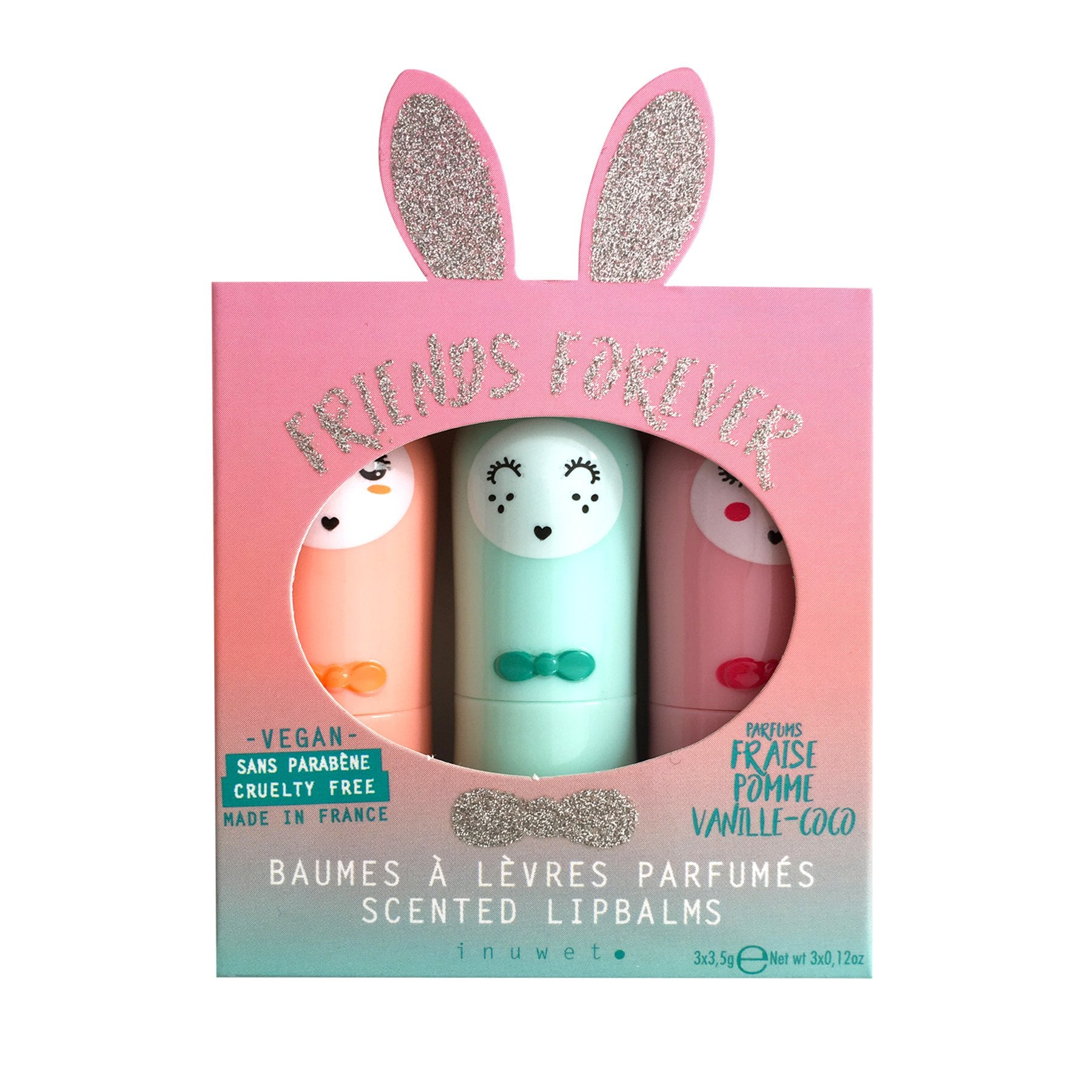 Friends Forever - Trio glitter aqua