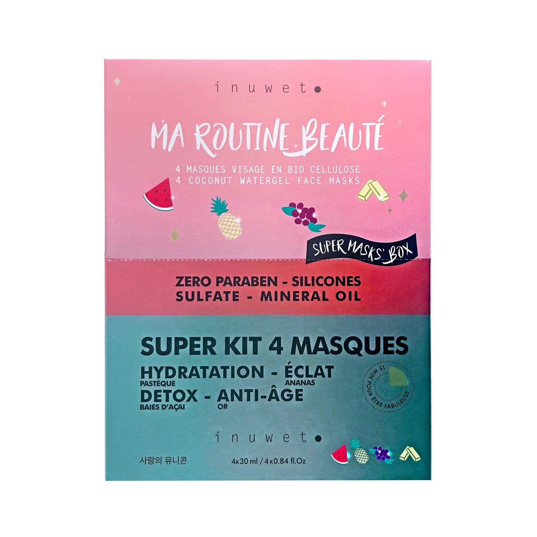 Super Kit 4 Masques