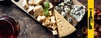 Cheesey love story: wine and cheese pairings'