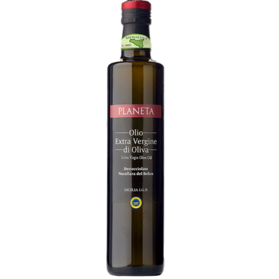 Bottle of olive oil from Italy