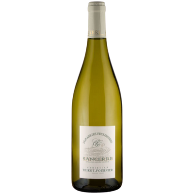 Bottle of Sauvignon Blanc white wine from sancerre France