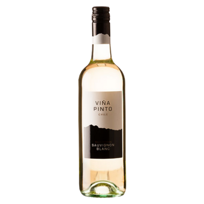 Bottle of Sauvignon Blanc white wine from Chile