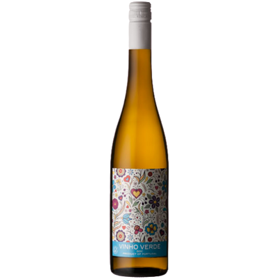Bottle of Vinho Verde white white from Portugal