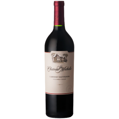 Bottle of Cabernet Sauvignon red wine from Washington State USA
