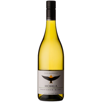 Bottle of Sauvignon Blanc white wine from Marlborough New Zealand
