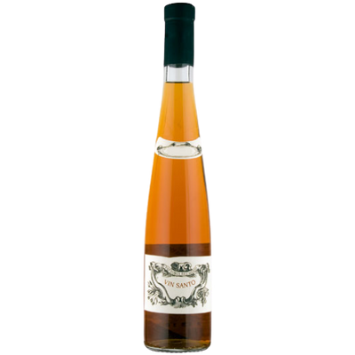 Bottle of Vin Santo, Dessert wine from Italy