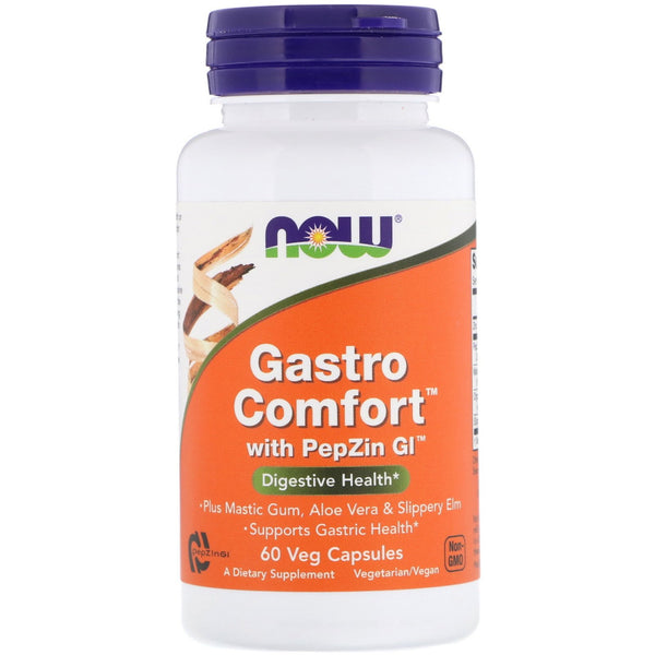 Now Foods, Gastro Comfort with PepZin GI, 60 Veg Capsules