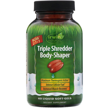 Irwin Naturals, Triple Shredder Body-Shaper, 60 Liquid Soft-Gels