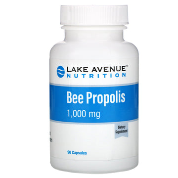 Lake Avenue Nutrition, Bee Propolis, 5:1 Extract, 1,000 mg, 90 Veggie Capsules