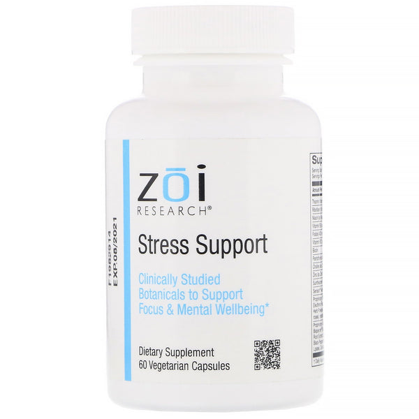 ZOI Research, Stress Support, 60 Vegetarian Capsules