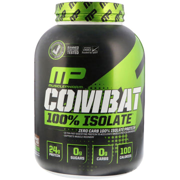 MusclePharm, Combat 100% Isolate, Chocolate Milk, 5 lb (2268 g)
