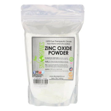 Sky Organics, 100% Pure Therapeutic Grade, Zinc Oxide Powder, 16 oz (454 g)