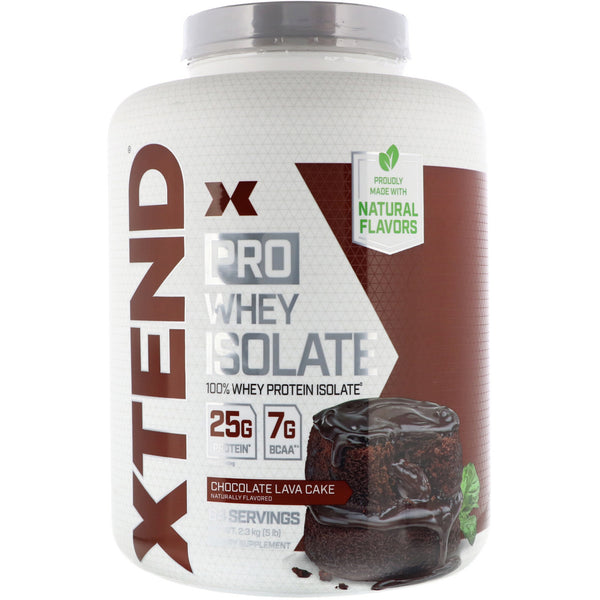 Scivation, Xtend Pro, Whey Isolate, Chocolate Lava Cake, 5 lb (2.3 g)