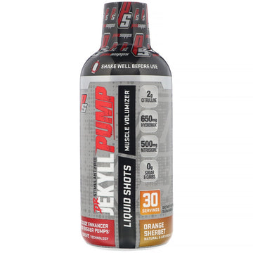 ProSupps, Dr. Jekyll, Pump, Stimulant-Free, Orange Sherbet, 15.2 oz (450 ml)