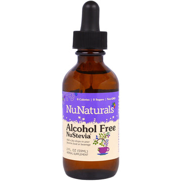NuNaturals, Alcohol Free NuStevia, 2 fl oz (59 ml)